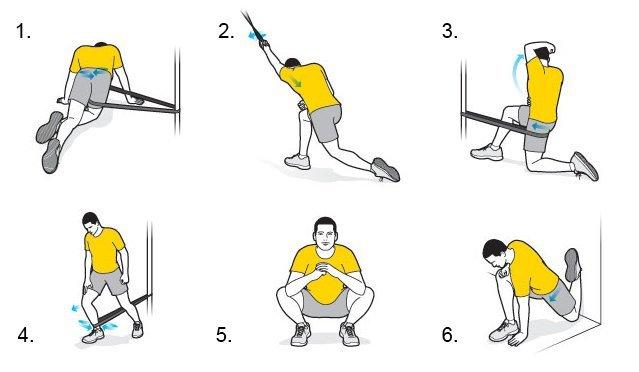 Exercices de mobilité