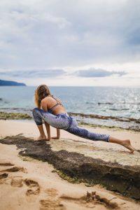 Position du lézard mobilité hanche étirement fléchisseurs de hanche crossfit