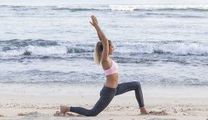 Fentes basse mobilité de la hanche étirement crossfit