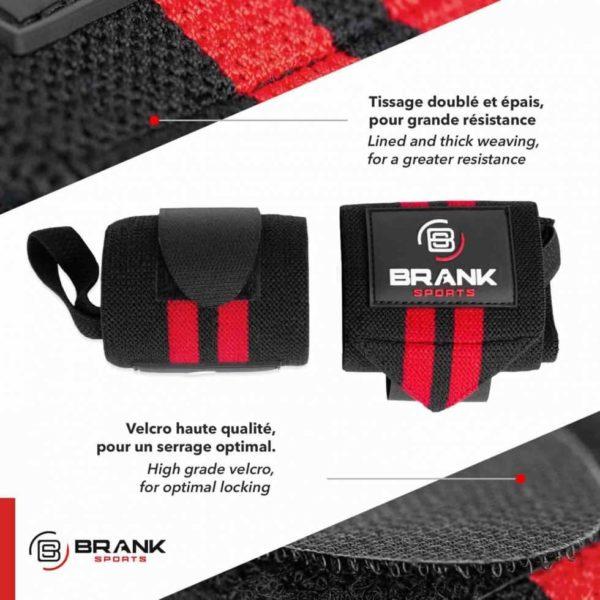 protege poignet BRANK Sports pour crossfit ou musculation