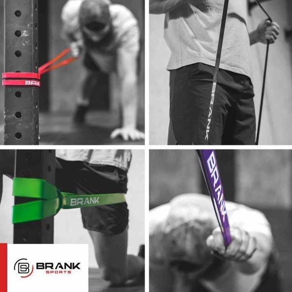 elastiques pour le travail de mobilité et souplesse