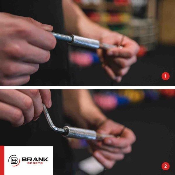 comment utiliser le kit de lestage pour la BRANK Rope