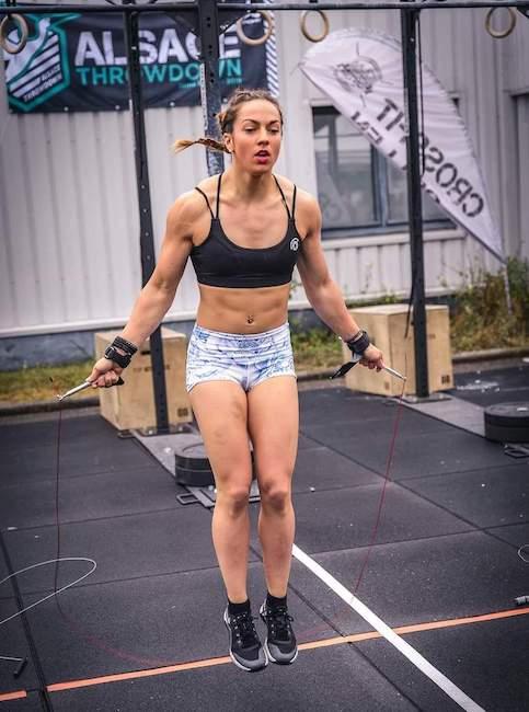 Madiy ambassadrice BRANK Sports Corde à sauter