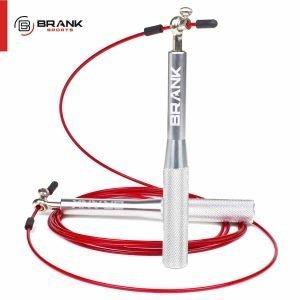 BRANK Rope, la meilleure corde à sauter crossfit Roulement à billes high tech coffret complet ajustable avec câbles de rechange