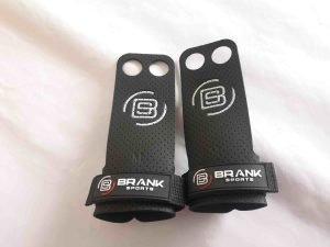 paire de maniques de crossfit en cuire 2 doigts