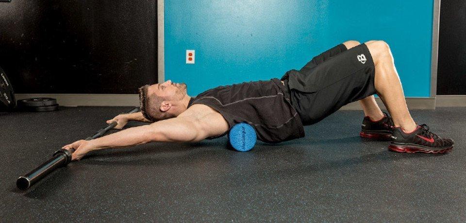travail de mobilité des épaule pour le crossfit