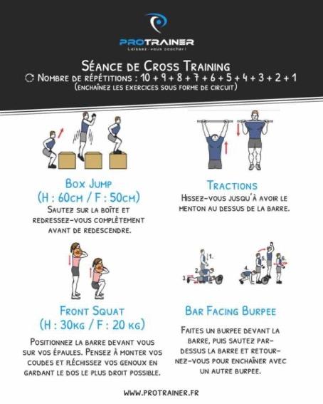 séance de cross training
