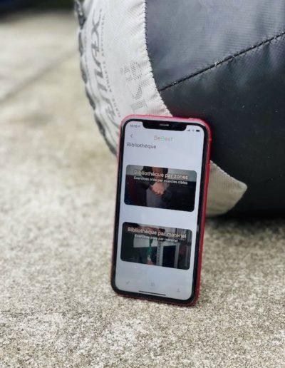 l'application pour mobile du renfo pour crossfiteurs